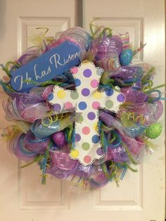 Easter Wreaths and Decorations | Easter Door Wreath