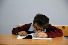 Palestinians teach blind students English via music #Lifestyle #iNewsPhoto