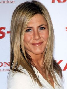 """Jennifer Aniston's trademark blend of highlights is a go-to client request at most salons, thanks to its universally flattering """"bronde"""" color combo. If you don't already have a light brown base, ask your colorist for a single process before highlighting with a golden blonde hue.Photo Credit: Getty Images, courtesy of iVillage - via StyleList"""