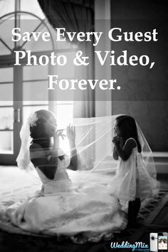 The FREE @WeddingMix app collects unlimited guest photos & video  - then turns them into an amazing wedding video! Now the #1 Rated wedding photo app on @weddingwire and @theknot