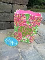 Hand-painted & monogrammed #LillyHoliday