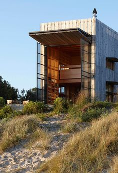 This one in New Zealand. | 21 Gorgeous Beach Houses That Are Doing It Right