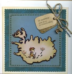 """Handmade """"Well Done"""" card - front"""