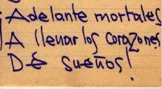 Frase del escritor peruano Luis Hernández