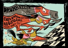 Derby Horse Gig Poster by Pocketowl on DeviantArt