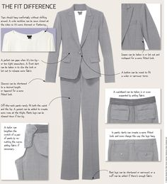 Tailoring Is the Secret of Well-Dressed Women by wsj http://online.wsj.com/news/articles/SB10001424052702303560204579250693129776518 #Fashion #Women #Tailoring
