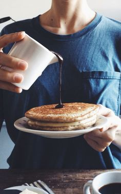 Boston Cream Pancakes//