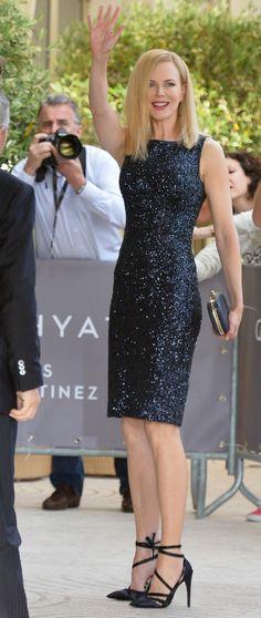 Aunque se le ha adelantado la francesa Audrey Tautou, también la actriz Nicole Kidman ha llegado al Festival de Cannes para la presentación oficial de los mie