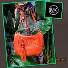 4bec3eea9cad Michael Kors orange crossbody handbag....$110 Only at Clothes Mentor Palm  Harbor