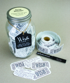 Baby Dreams Wish Jar New for Summer 2015. This is a new unique gift for a baby, whether you are looking for a baby shower gift, birth arrival or christening gift this is truly a memorable gift that will keep wishes forever. #splosh #wish #jar