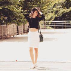 Waist Skirt, High Waisted Skirt, Mini Skirts, Instagram Posts, Fashion, Moda, High Waist Skirt, Fashion Styles, Mini Skirt