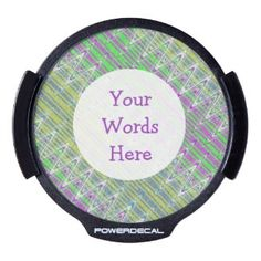 LED window decal for you auto #zazzle #decals #auto