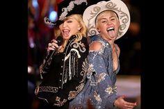 Miley y Madonna, duelo de 'femmes fatales' - Miley ha conseguido lo que muc... | Moda | EL MUNDO