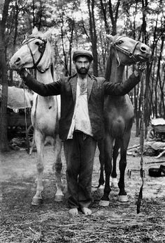 In 1962, Joseph Koudelka embarked on an eight-years' project, a photo-essay in the tradition of Life magazine on the Gypsies of Czechoslovakla. Composed of portraits where the sitters were facing the camera, Koudelka dealt with the daily lives of Gypsies. Completely aware of the photographer's presence and accepting of it, he was allowed into world very few non-Gypsies know from the inside. Dynamic and enigmatic,Koudelka looks through his subjects, finds the passage from the unconscious to…