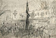 Inauguração do Caminho de ferro de D. Pedro II