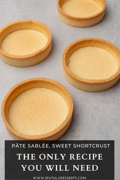 Pastry Recipes, Tart Recipes, Sweet Recipes, Baking Recipes, Fancy Desserts, Sweet Desserts, Delicious Desserts, Yummy Food, Sweet Pie