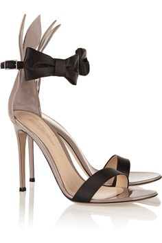 Heel measures approximately 4 inches Mushroom patent-leather 417643f85f99