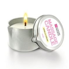 LoversPremium 4-in-1 massage candle: candle, moisturizing lotion, massage oil and body balm in one!The 4-in-1 candles are fun and easy to use. Enjoy this scented LoversPremium massage candle, which is enriched with natural ingredients, together. Vanilla Cream has a delicious delicate sweet scent w