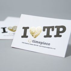 Opuleaf Foil Business Cards For Timepiece Exeter Cartes De Visite Papier Argent