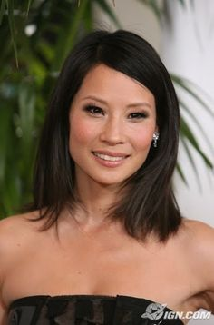 A bridesmaid sent me this gorgeous photo of Lucy Liu as her makeup inspiration. Stunning.
