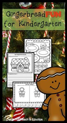 This resource contains 47 pages of cut-and-glue math and literacy activities. The pages focus on addition, short vowel word families, subtraction, sight words, counting, constructing and writing sentences, making ten, and more! Students work on math and literacy as well as fine motor skills. Every page has a gingerbread theme! This set works well as morning work, activities for early finishers, review pages, or fun, gingerbread-themed practice! 3 of the sight word pages are EDITABLE!