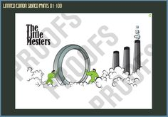 The Little Mesters Steel - Limited Edition Print 01 - 100 – Goo Design