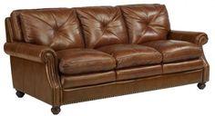 Frontroom Furnishing: Leather Sofa