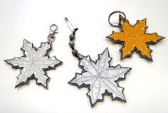 Heijastintarraa.     Tarra ei enää pidä.           Messumattoa.     Dyykkasin taannoin   Tampereen Kädentaitomessuilta.           A... Crafts To Do, Hobbies And Crafts, Arts And Crafts, Diy Crafts, Leaf Projects, Snowflake Craft, Little Gifts, Handicraft, Diy Tutorial