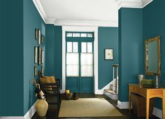 This is the project I created on Behr.com. I used these colors: WAVE TOP(M450-3),TSUNAMI(S450-7),GALLERY WHITE(PPU12-12),