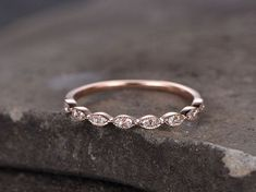 Sterling silver ring for women/Cubic Zirconia wedding band/CZ