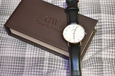 classic sheffield, daniel wellington, watch, elegant, beauty, lifestyle, woman, black, leather, rose gold