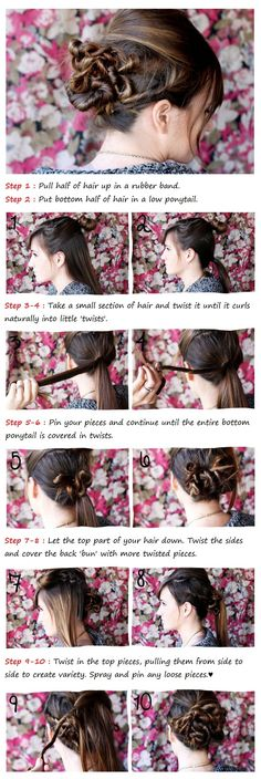 Twisted Bun Tutorial | Beauty Tutorials