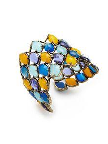 Melita Cuff by Kendra Scott Jewelry at Gilt