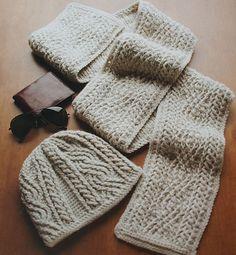 [Free Pattern] Crochet - Alpine Cables