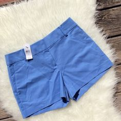 """Ann Taylor Loft Riviera Shorts New with tags powder blue Riviera Shorts size 2. 4"""" inseam. No trades, offers welcome. Ann Taylor Shorts"""