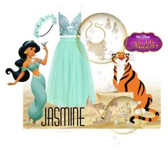 """Jasmine Inspired"" by leanne-mcclean ❤ liked on Polyvore featuring Thalia Sodi, Disney, Chicwish, Zimmermann, Wet Seal, Bling Jewelry, Ivanka Trump and Oscar de la Renta"