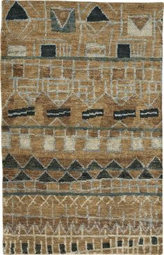 The Striation style is a geometric rug design from Capel Rugs. Striation rugs have a hand knotted construction. Natural Area Rugs, Natural Rug, Tan Rug, Solid Rugs, Rug Company, Braided Rugs, Hand Tufted Rugs, Geometric Rug