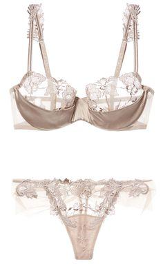 for-the-love-of-lingerie: by La Perla. Love taupe color, so classy. Most my lingerie is white, ivory, black, pink or taupe. Body Lingerie, Lingerie Chic, Jolie Lingerie, Lingerie Outfits, Sheer Lingerie, Pretty Lingerie, Wedding Lingerie, Luxury Lingerie, Underwear