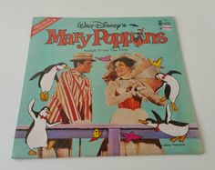 Mary Poppins, Lp, Unique Jewelry, Disney, Handmade Gifts, Etsy, Vintage, Kid Craft Gifts, Craft Gifts