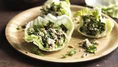 BBC - Food - Recipes : Nice and spicy Thai minced chicken salad (Larb Gai)