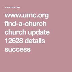 www.umc.org find-a-church church update 12628 details success