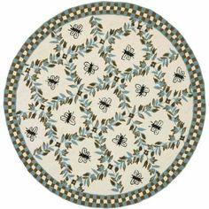 Safavieh Chelsea Lara Hand-Hooked Wool Area Rug, White