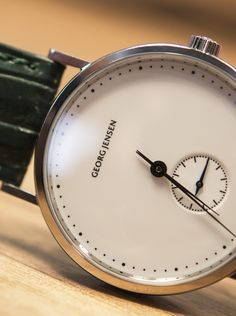 Georg Jensen: The new Koppel collection begins with the Mechanical Hand Wound Small Seconds