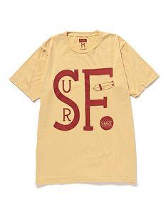 BEAMS TのSURT / SF SURT ショートスリーブ Tシャツです。こちらの商品はBEAMS Online Shopにて通販購入可能です。