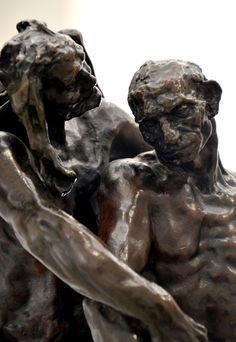 L'âge mûr (détail), vers 1890 par Camille CLAUDEL (1864-1943). Bronze, fonte E. Blot n°3 en 1907. Réduction au tiers du modèle original. Musée Camille Claudel à Nogent-sur-Seine. Photo : Hervé Leyrit ©