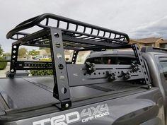 Toyota 4x4, Toyota Trucks, Toyota Tundra, Ford Ranger, Tacoma Bed Rack, Tactical Truck, Navara D40, Tacoma Truck, Truck Storage