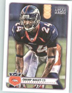 champ bailey rookie card   ... Football Card # 21 Champ Bailey - Denver Broncos - NFL Trading Cards