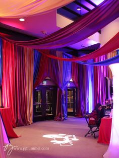 Circus Gala with tented entryway / PJ Hummel & Co