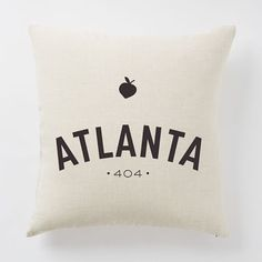 Hometown City Pillow Covers | west elm