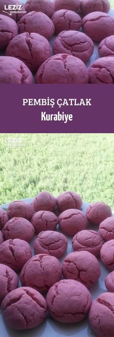Pembiş Çatlak Kurabiye Candy Cookies, Cookie Desserts, Cookie Recipes, Cracked Cookies, Turkish Recipes, Beautiful Cakes, Food Art, Food To Make, Easy Meals